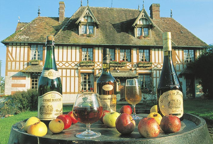 French Apple aperitifs from Normandy and Bretagne