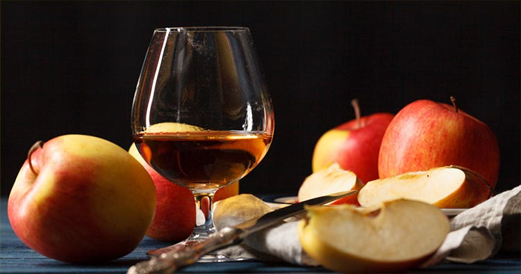Calvados brandy from Normandy