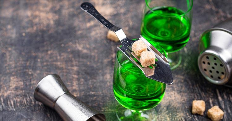 French drink: Absinthe a French aperitif
