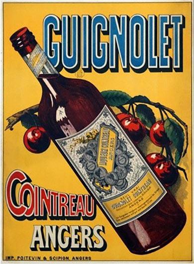 Guignolet: Wild cherry liqueur by Cointreau