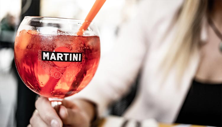 If you order a Martini in France, you'll be served straight up vermouth over ice from the Brand Martini & Rossi