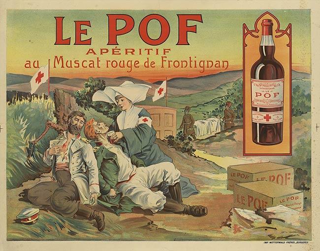 Muscat de Frontignan Wine VDN French aperitif