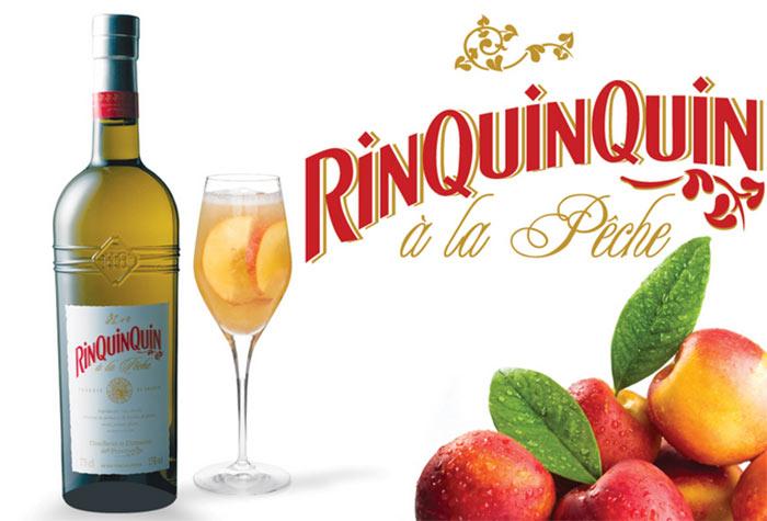 RinquinQuin: Peach liqueur wine: A Provençal aperitif