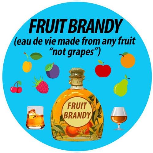 Eau de vie de fruit: Fruit Brandy: Eau de vie made with fruits