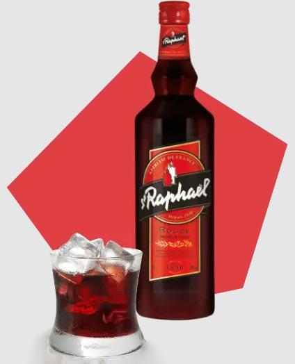St Raphael: sweet French aperitif
