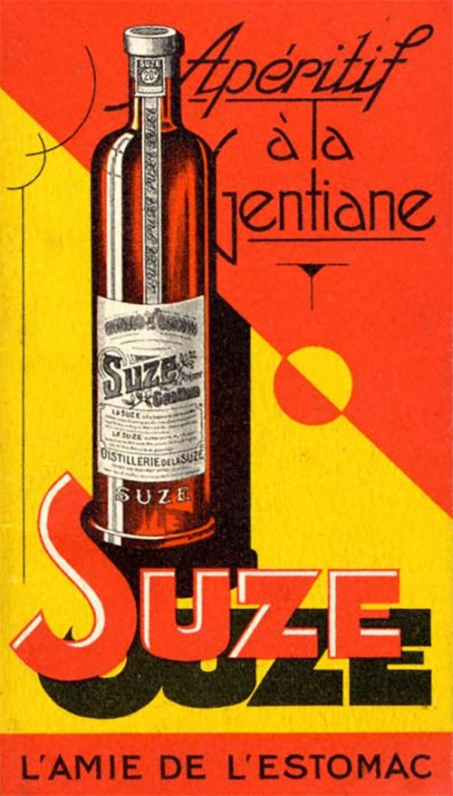 Suze A bitter French aperitif