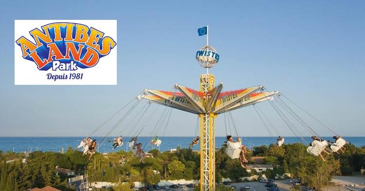 Antibes Land, larges amusement park on the Côtes d'Azur