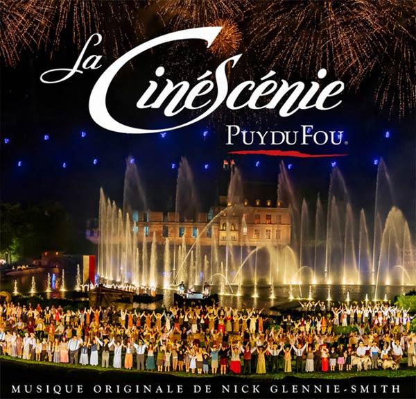 Cinéscénie night show at Puy-de-fou-France-theme-park