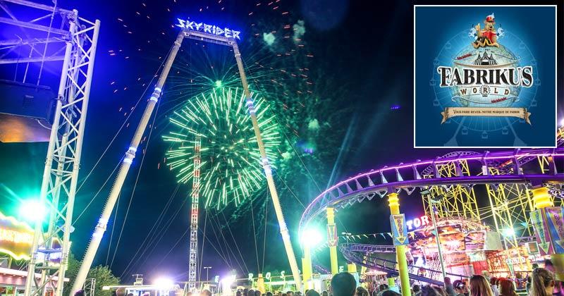 Fabrikus World: A permanant fairground / amusement park located near Montpellier France