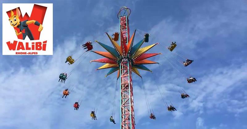 French amusement park Walibi: Hurricane ride