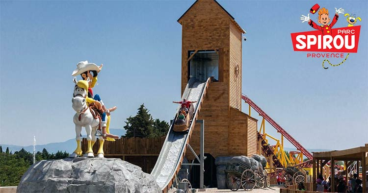 French theme park in Provence: Parc Spirou