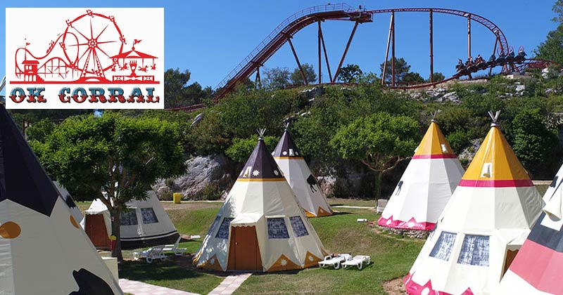 OK Corral, Western theme park and amusement park in the South of France