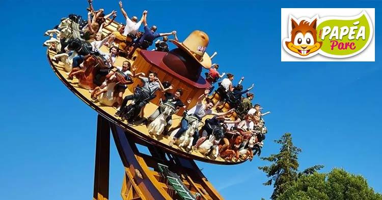 Papéa Parc: Largest theme park in the Loire Valley
