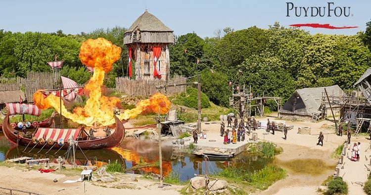 Best Theme park in France: Puy Du Fou