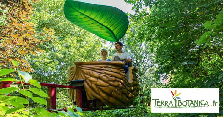 Terra Botanica plant, flora and fauna inspired theme park in Angers France