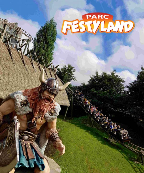 Festyland: a Norman Viking themed amusement park in Normandy France