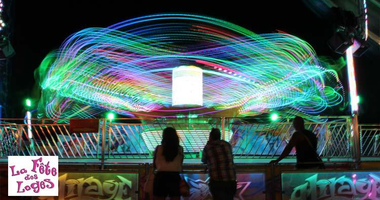 La fêtes des loges fairgrounds near Paris