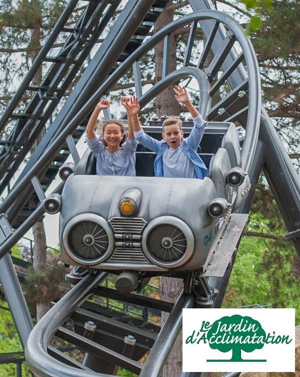 Le Jardin d'acclimation: garden and theme park in Paris