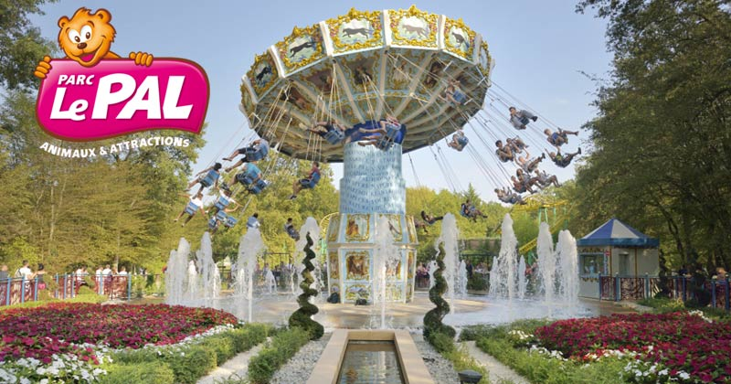 Park Le Pal: French amusement park and zoo in one plus immersive safari hotel experience