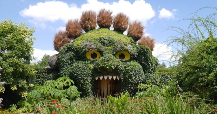 Terra Botanica theme park located in Angers, France
