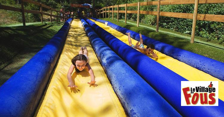 Village des Fous: outdoor activity forest theme park