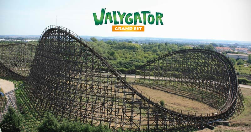WalyGator Grand Est French them park in France