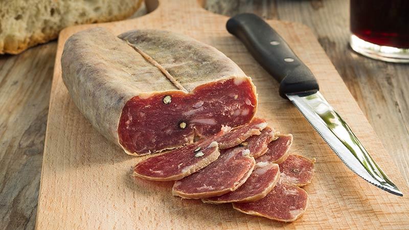 Soppressata: charcuterie board meat