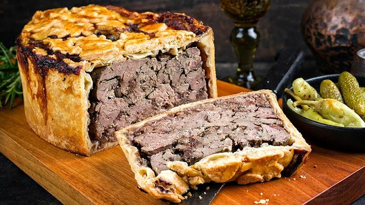 pâté en croûte: Charcuterie Board Meats