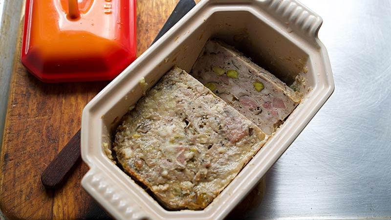 pâté de Campagne Terrine: Charcuterie Board Meats