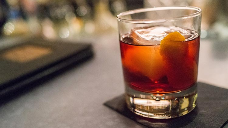 Boulevardier French Cocktail