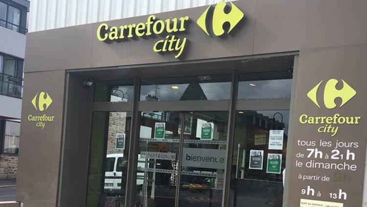 Carrefour city France: