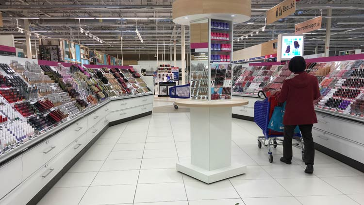 Carrefour in France: closest equivalent to a Walmart