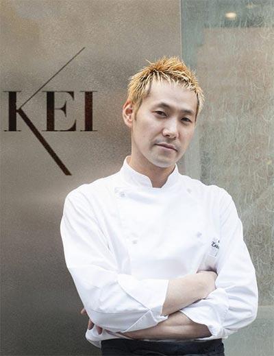 Kei Kobayashi micheline star restaurant paris