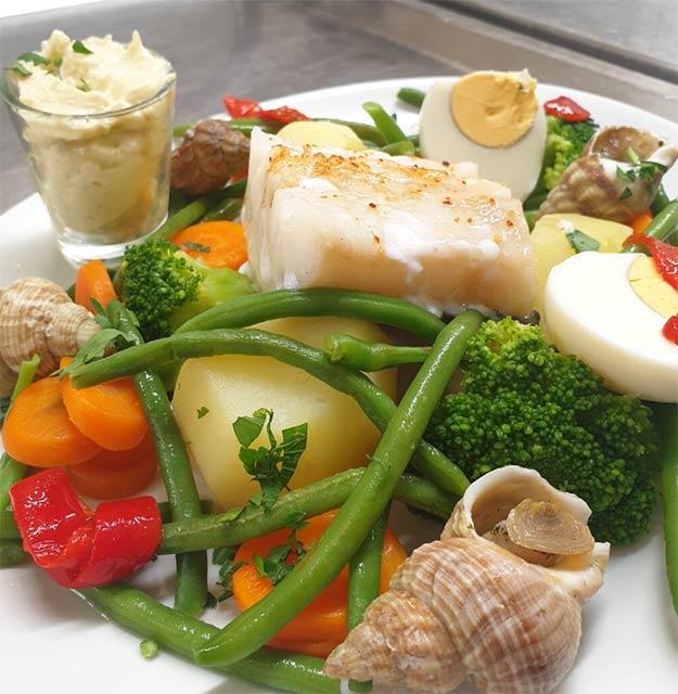 Grand Aïoli: French provençal dish