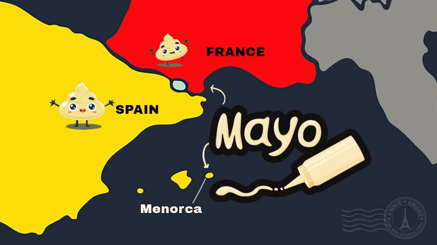 Mayonnaise Spanish or French?